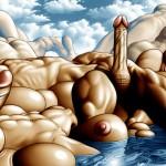 Penis landscape surreal