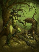 woman-dryad